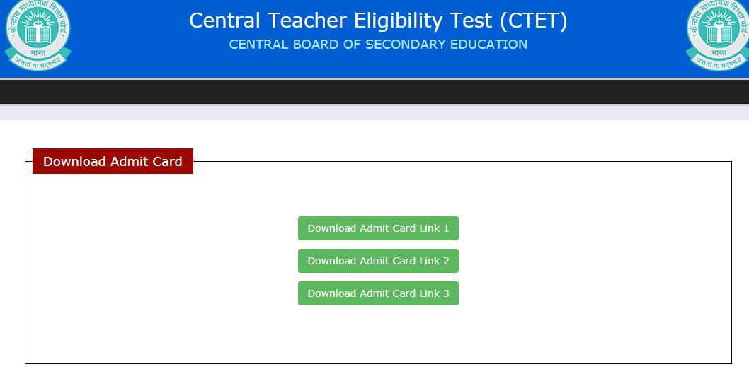 ctet-admit-card
